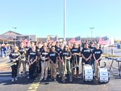 MCCHS Band Plays for Veterans' Tribute