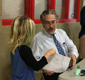 'Bad Kitty' Author Nick Bruel Visited Claxton