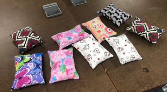 How About This Empathy Project..... Port Pillows?