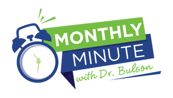 Monthly Minute - Recordings Available Beginning Next Week