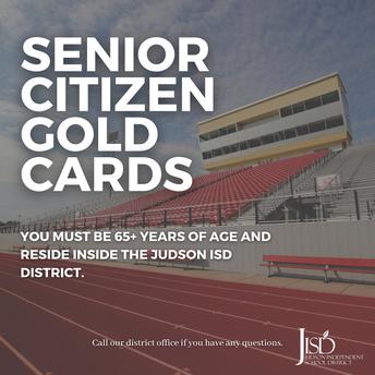Senior Citizen Gold Cards