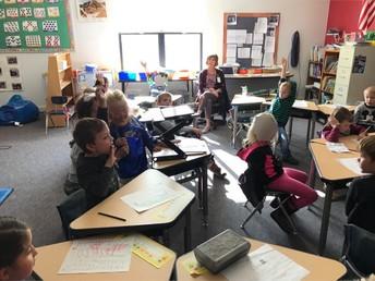 Students Provide Peer Feedback