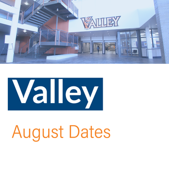 Valley August dates promo