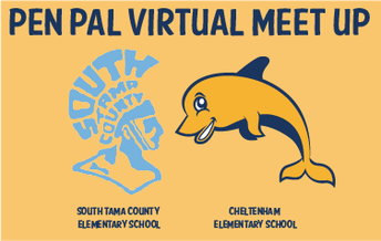 """CES Third and Fourth Graders """"Meet"""" Iowa Pen Pals via Video Chat"""