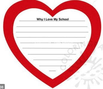 """Valentine's Day Activity & Food Drive: """"Schools are the Heart of Our Community"""""""