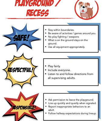 Playground and Recess Expectations