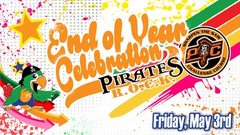 Pirates ROCK End-of-Year Celebration/Sharpen the Saw Challenge
