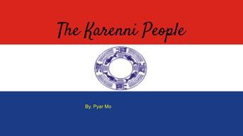 The Karenni People