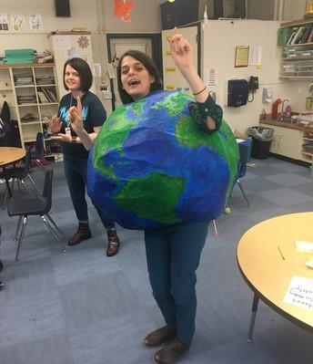 Brittany teaching global studies