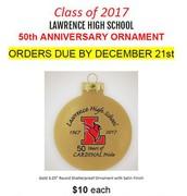 50th Anniversary Ornaments