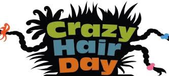 Crazy Hair & Hat Day Tomorrow, 2/27!