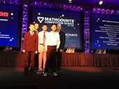 Stoller Middle School MATHCOUNTS Team represents Oregon at National Competition