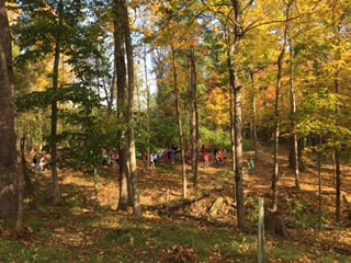 nature trail volunteer day - tomorrow!!