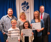 Panthers of the Month - Primary, Intermediate & High School
