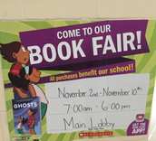 We can't wait for the book fair!