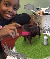 3D cow