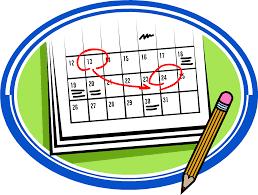 Pleasant Ridge Calendar  -Calendario de Pleasant Ridge