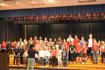 Veterans Day Chorus Performs