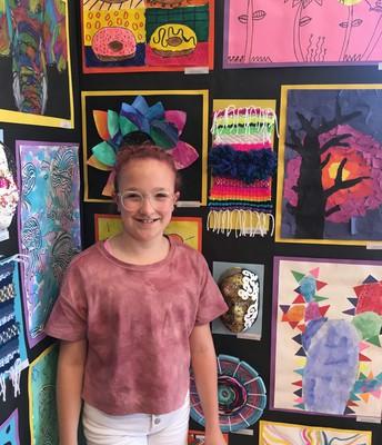 4th Grade Artist, Miss Brecklyne Zager