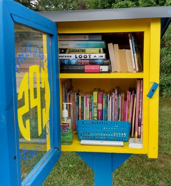 Don't forget our Little Libraries!