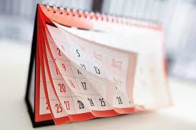 November 2020-January 2021 Strings Calendar