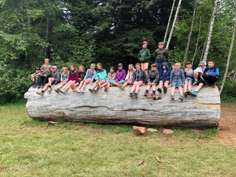 5th graders checking in from their Patrick's Point trip!