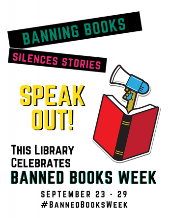 Banned Books Week is Sept. 23rd-29th