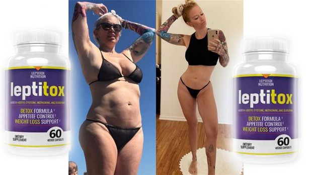 Bikini before and after from Leptitox