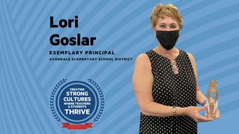 Congratulations Michael Anderson Principal - Ms. Lori Goslar