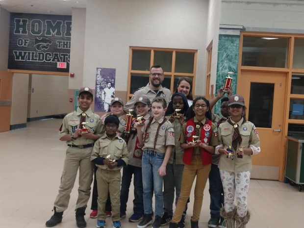 cub scout group picture