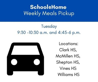 Free Weekly Meal Bundles for School@Home Students