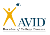 WANTED: AVID Tutors!