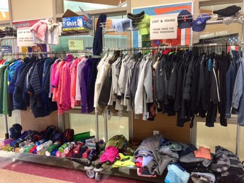 Unclaimed Items in Lost & Found to be Donated March 11!