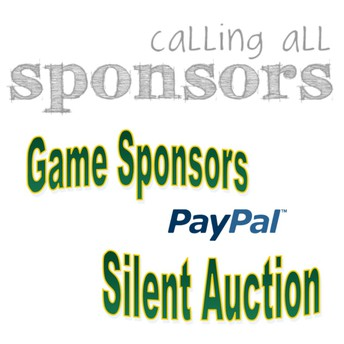 Game Sponsors & Silent Auction Donations Needed!