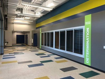 Lobby Area of New Gym