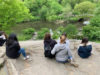 Taking in the scene at Central Park!