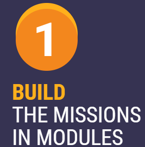 1. Build the Missions in Modules