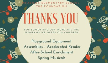 Thank You for Supporting Meadows and the APEX Fundraiser