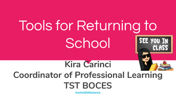 Complimentary Guide: Tools for Returning to School