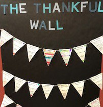 Thankful Wall