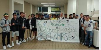 Metro League Champions - Soccer