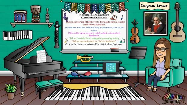 Mrs. Gauthier's Virtual Music Classroom
