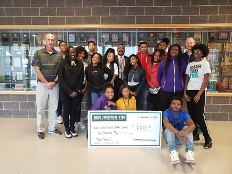A huge thanks to Dick's Sporting Goods for the $1,000 grant to CPMS!