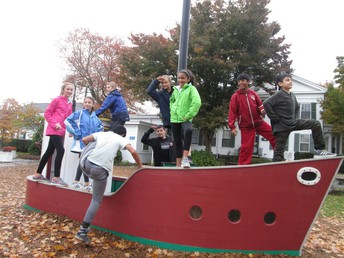 6th Grade field trip to Mystic Seaport