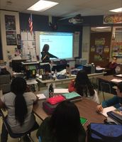 Math concepts in Ms. Grimm's class