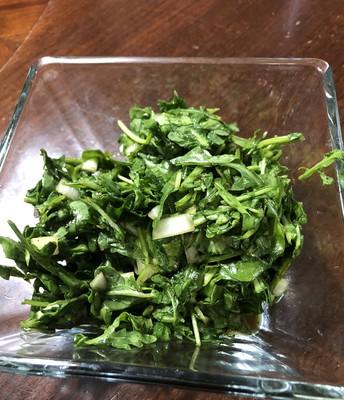 Sweet and Sour Arugula Salad (serves 4)