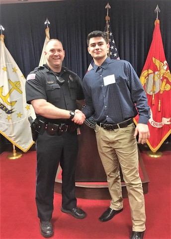 AHS Senior Enlists in Massachusetts Army National Guard