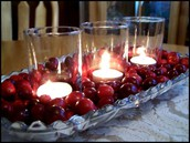 Cranberry Decorations