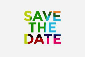 """Image reads: """"Save the Date"""""""