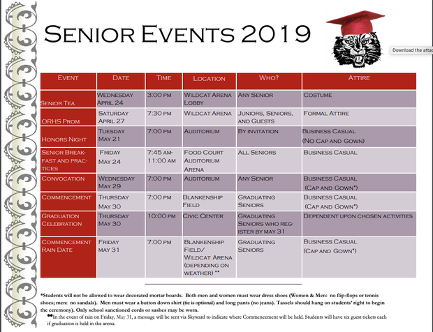 Wildcat iNews 5/13/19 - Oak Ridge High School